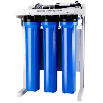 Workhorse 300 GPD Commercial Grade Reverse Osmosis Water Filtration System w/ Booster Pump and Oversized Pre RO Filters