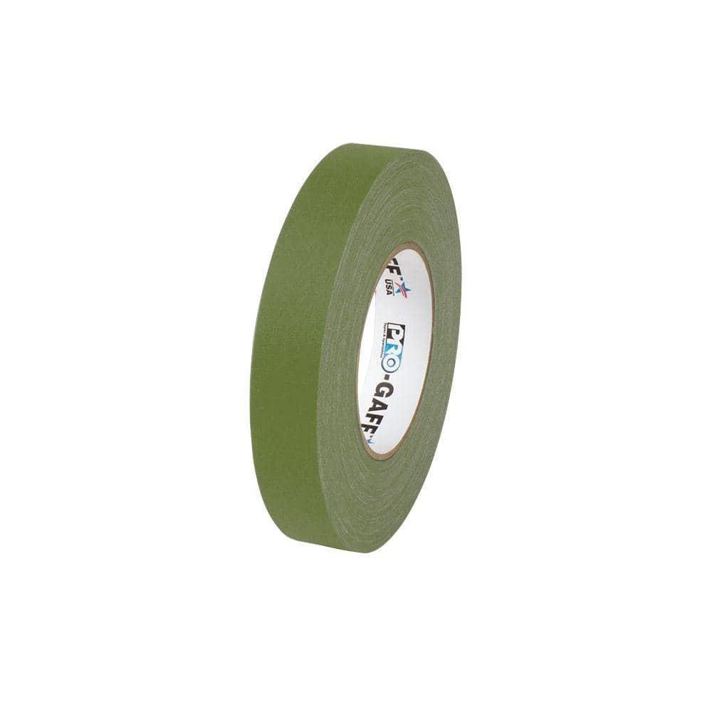 Multipurpose Tape Waterproof Olive Drab Gaffer Tape; Wide 3inx55yd Heavy Duty Pro Grade Gaffer/'s Non-Reflective