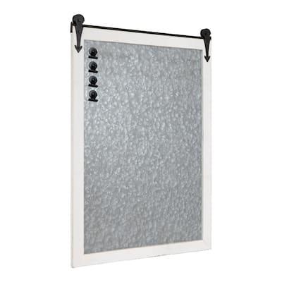 Cates White Magnetic Memo Board