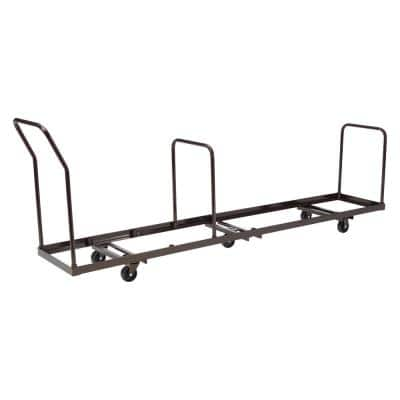 1375 lbs. Weight Capacity Folding Chair Dolly for Storage and Transport