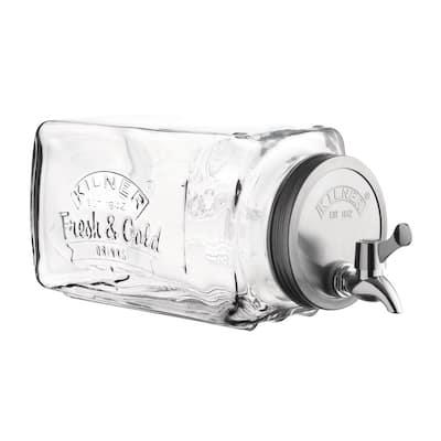 Fridge 102 fl. oz. Glass Drinks Dispenser
