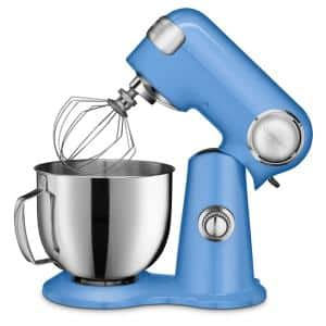 Precision Master 5.5 Qt. 12-Speed Die Cast Stand Mixer in Periwinkle Blue