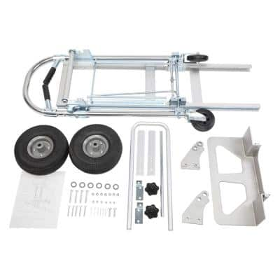 700 lbs. Capacity 3-in-1 Aluminum Hand Truck Assisted Hand Cart