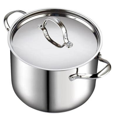 Classic 12 qt. Stainless Steel Stock Pot with Lid
