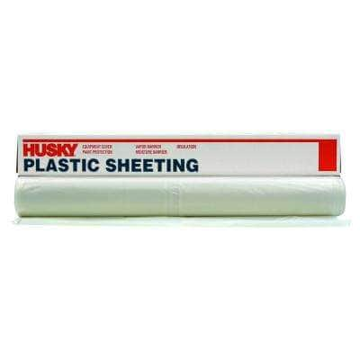 12 ft. x 200 ft. Clear 1.5 mil Plastic Sheeting