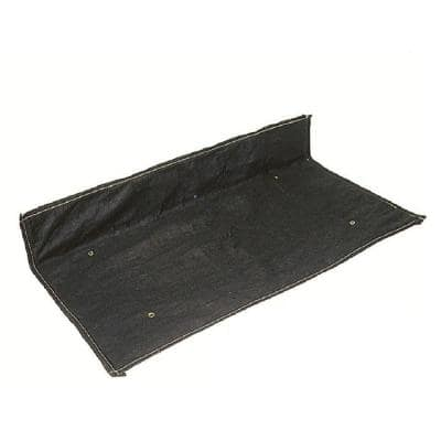 4 ft. x 2 ft. Black Non-Woven Inlet Cover