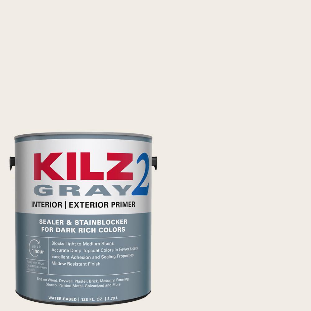 All Purpose 1 gal. Gray Interior/Exterior Multi-Surface Primer, Sealer, and Stain Blocker