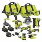 ONE+ 18V Cordless 10-Tool Combo Kit with 3 Batteries and Charger