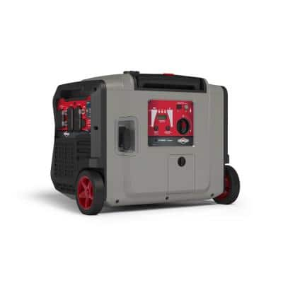 PowerSmart 4500-Watt Electric Start Gasoline Powered Inverter Generator with Bluetooth and OHV Engine - CARB
