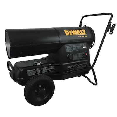 135,000 BTU Forced Air Kerosene Portable Heater
