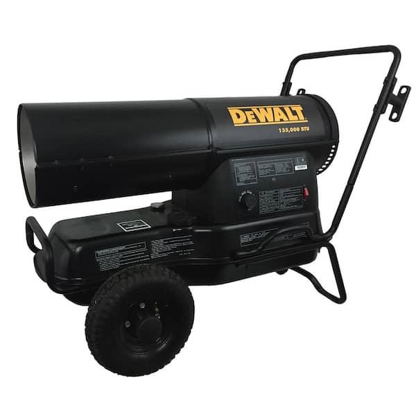 DeWalt 135,000 BTU/hr. 3000 sq. ft. Forced Air Kerosene Heater