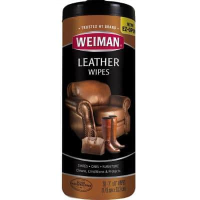 Leather Wipes (30-Count)