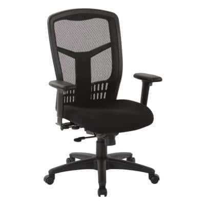 ProGrid® 26.5 in. Width Big and Tall Coal Fabric Ergonomic Chair with Wheels