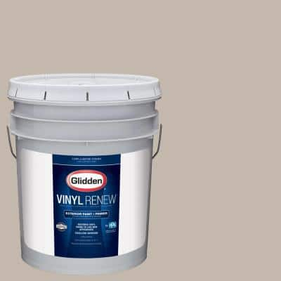 5 gal. #HDGWN24 Stone Harbor Greige Low-Lustre Exterior Paint with Primer