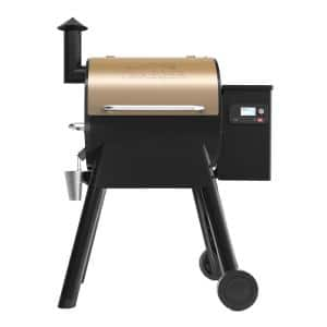Pro 575 Wifi Pellet Grill and Smoker in Bronze