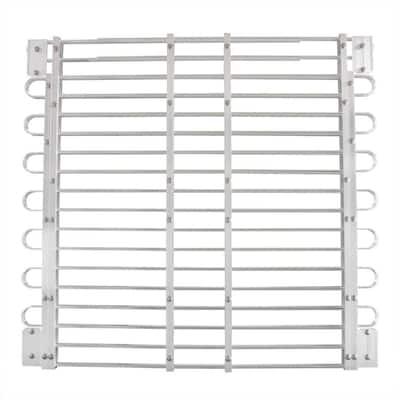 34 - 37 in. x 45 - 60 in. Adjustable Aluminum Window-Well Grate