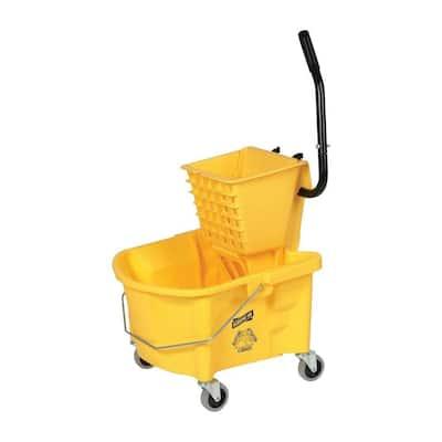 6.50 Gal. Splash Guard Mop Bucket/Wringer