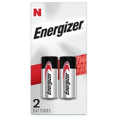 N Batteries (2 Pack), 1.5V Miniature Alkaline E90 Batteries