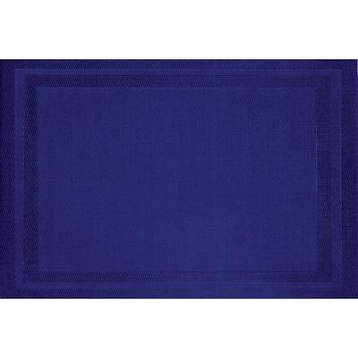Cobalt Blue Basket Weave Placemat (Set of 8)