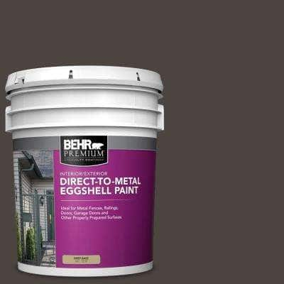 5 gal. #PPU5-01 Espresso Beans Eggshell Direct to Metal Interior/Exterior Paint