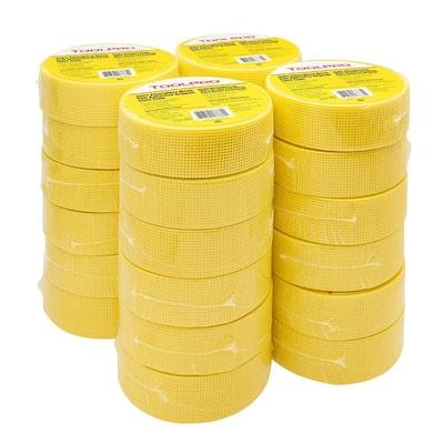 1-7/8 in. x 300 ft. Yellow Fiberglass Self-Adhesive Mesh Tape TP03385