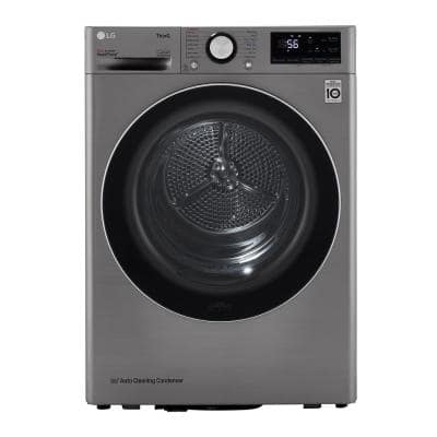 4.2 cu. ft. Graphite Steel Compact Electric Dryer with Dual Inverter HeatPump Technology