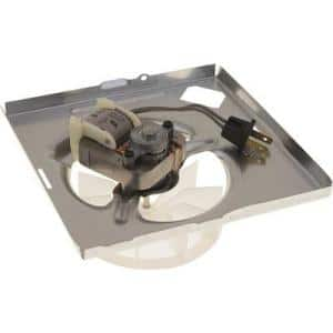 Fan Assembly - Includes Motor, Blower Wheel and Mounting Plate