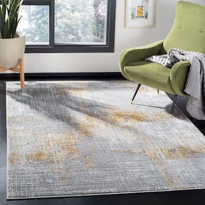 Craft Gray/Beige 9 ft. x 12 ft. Area Rug
