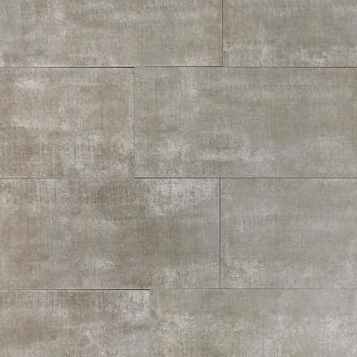 Essential Cement Ash 12 in. x 24 in. Matte Porcelain Floor and Wall Tile (15.49 sq.ft. / case)