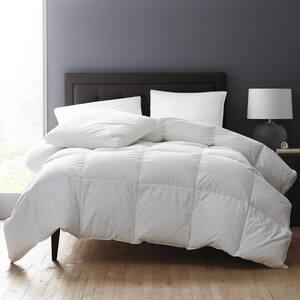 White Bay PrimaLoft Black Label Paisley Down Alternative Light Warmth Cotton Queen Comforter
