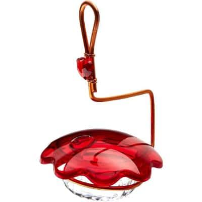 Birds Choice Copper Single Cup Hummingbird Feeder