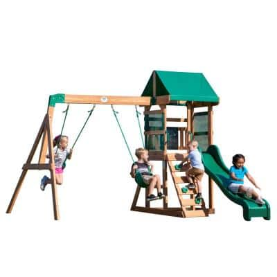 Buckley Hill All Cedar Swing Set