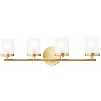 Gold Vanity Lighting Lighting The Home Depot