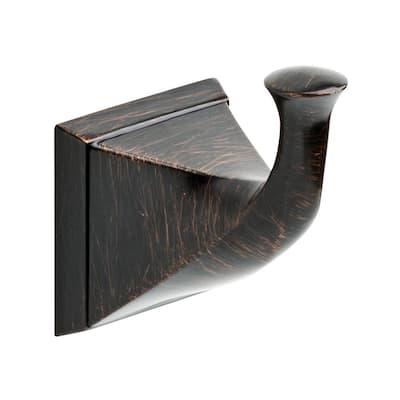 Everly Single Towel Hook in Venetian Bronze