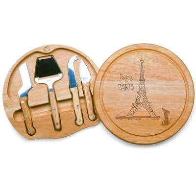 10.2 in. Ratatouille Circo Cheese Board and Tools Set