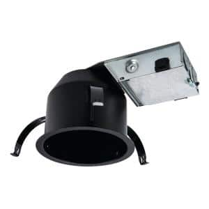 H245 4 in. Aluminum LED Recessed Light Housing for Remodel Shallow Ceiling, Insulation Contact, Air-Tite, Ultra-Shallow