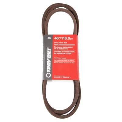 46 in. Original Equipment Deck Drive Belt for Select Front Engine Riding Lawn Mowers OE# 954-04219, 754-04219