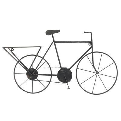 Black Metal Bicycle Wall Art