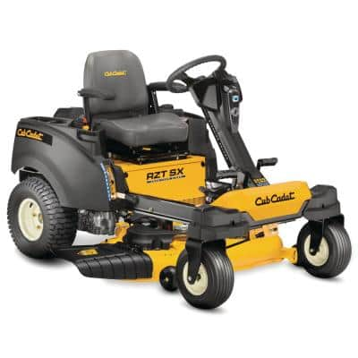 42 in. 679 cc Fuel Injected (EFI) V-Twin Engine Dual Hydro Gas ZeroTurn Riding Mower with Steering Wheel Control