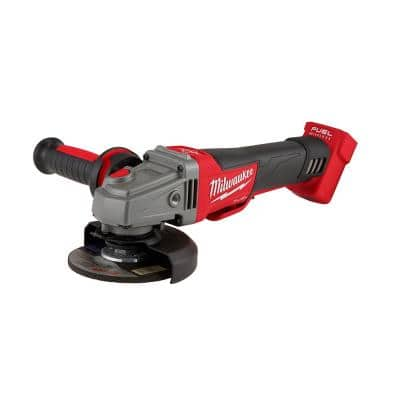 M18 FUEL 18-Volt Lithium-Ion Brushless Cordless 4-1/2 in. to 5 in. Braking Grinder (Tool-Only)