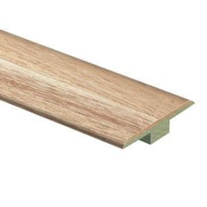 Natural Hickory 7/16 in. Thick x 1-3/4 in. Wide x 72 in. Length Laminate T-Molding
