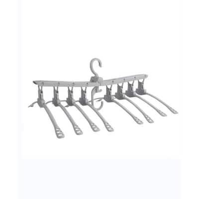 Gray Plastic Hangers