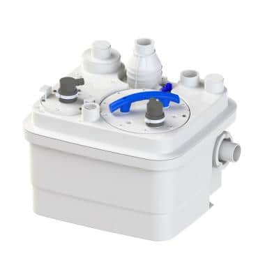 SaniCubic 1 1HP 115-Volt Grinder Pump