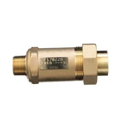 3/4 in. Male Inlet x 3/4 in. Union Female Outlet 700XL Dual Check Valve