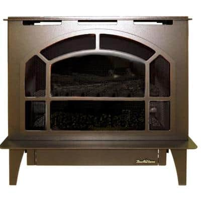 Townsend II Steel 32,000 BTU Vintage Copper Vent-Free LP Gas Stove