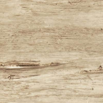 SAMPLE - 6 in. x 6 in. Riverwood Natural Pine Endurathane Faux Wood Ceiling Beam Material