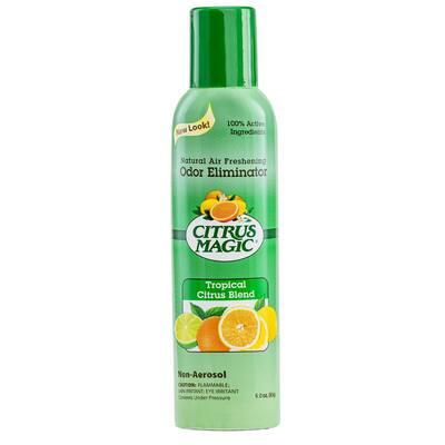 6 oz. Tropical Citrus Blend Natural Odor Eliminating Air Freshener Spray