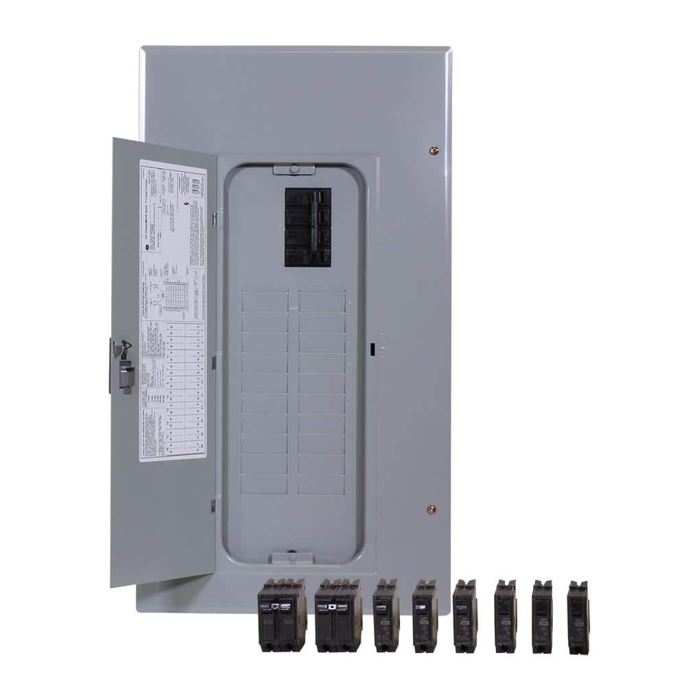 GE PowerMark Gold 200 Amp 20-Space 20-Circuit Indoor Main Breaker Value Kit  Includes Select Circuit Breaker-TM2020CCUPL5 - The Home Depot   Ge Fuse Boxes      The Home Depot