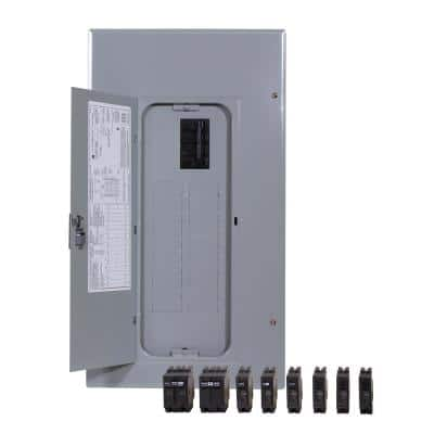 PowerMark Gold 200 Amp 20-Space 20-Circuit Indoor Main Breaker Value Kit Includes Select Circuit Breaker