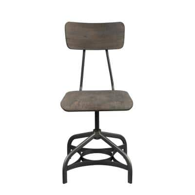 Jonquil Gray Oak and Sandy Gray Side Chair (Set of 2)